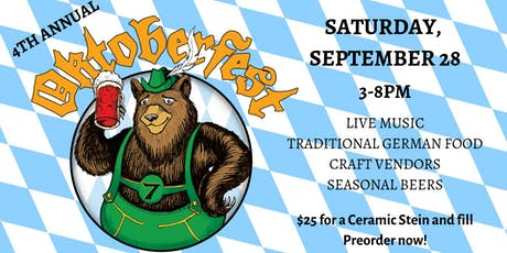 4th Annual Oktoberfest tickets