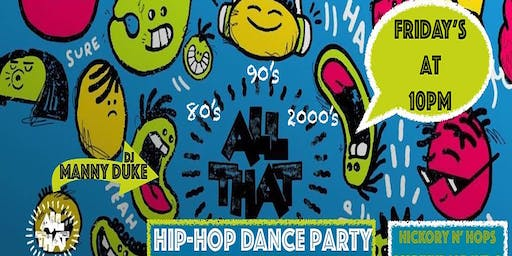 All That Hip-Hop at Hickory n' Hops