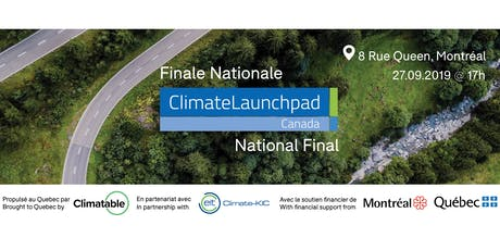 ClimateLaunchpad Canada - Finale Nationale tickets