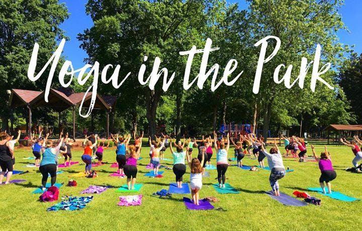 Yoga in the Park, Mesa Arizona