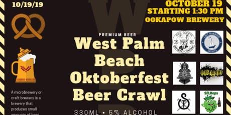 West Palm Beach Oktoberfest Beer Crawl tickets