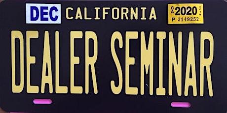 Sacramento Car Dealer School tickets
