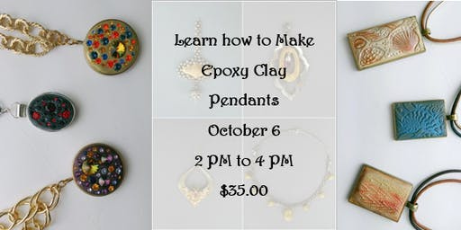 Learn How to Make Epoxy Clay Pendants