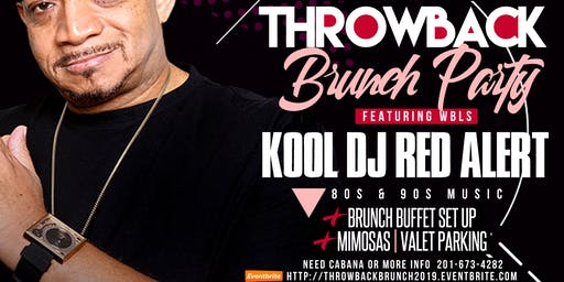 80s & 90s Throwback BRUNCH Party W/ KOOL DJ RED ALERT in Edison NJ