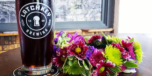 Oktoberfest Flower Crown Workshop at Latchkey Brewing