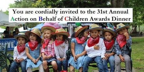 2019 ABC (Action on Behalf of Children) Awards tickets
