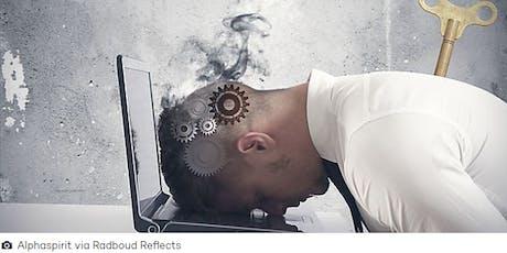 """""""Sabías que las empresas están obligadas a prevenir el estrés laboral"""" tickets"""