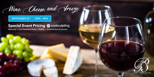 Wine, Cheese & Freeze- Rejuvenating Beauty's Cool Event!