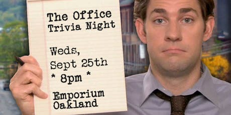 Trivia Night: The Office at Emporium Oakland tickets