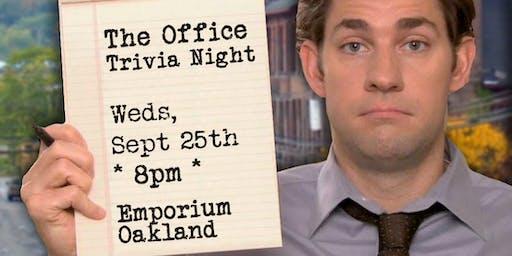 Trivia Night: The Office at Emporium Oakland