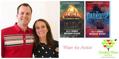 Ally Condie & Brendan Reichs, DARKDEEP: THE BEAST tickets