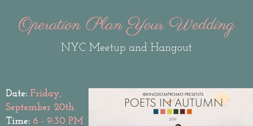 Community Members of Operation Plan Your Wedding Meetup