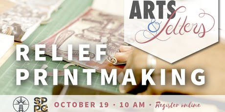 Arts & Letters: Relief Printmaking tickets