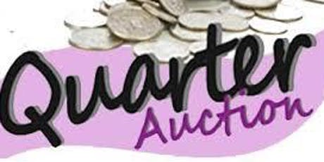 Quarters for the Cure  - Quarter Auction tickets