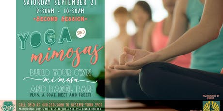 Yoga & Mimosas at Osso tickets