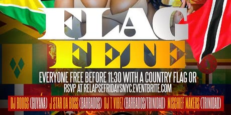 """Flag Fete """" The Labor Day Weekend Kickoff"""" tickets"""