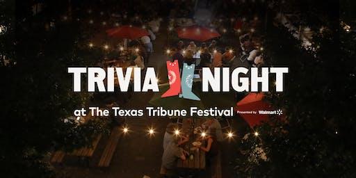Trivia Night with Steve Kornacki –Special #TribFest19 Edition
