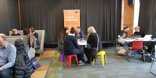 Design and Fine Arts Portfolio Reviews - Massey University Wellington