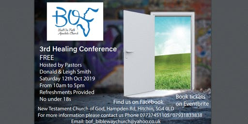 Built on Faith's 3rd Healing Conference