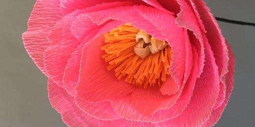 Learn Paper Flower Making w/ Jacqueline