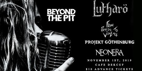 Lutharo at Cafe Dekcuf tickets
