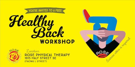 Healthy Back Workshop tickets