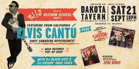 Wild Records – Back to Reform School Party tickets