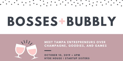 Startup Sisters Presents Bubbly Boss Bingo ⚡ A Super Business Woman Social