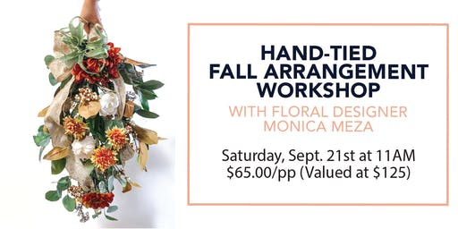 Fall Arrangement Workshop