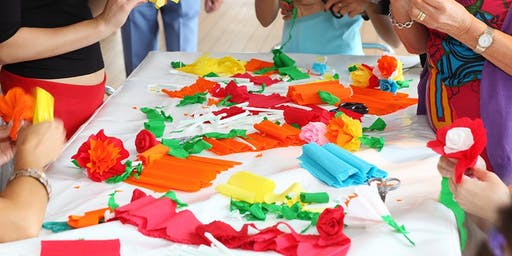 Spring Paper Flowers School Holiday Program at Tuggerah Library