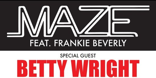 R&B Fall Fest 2019 | Maze featuring Frankie Beverly | Betty Wright