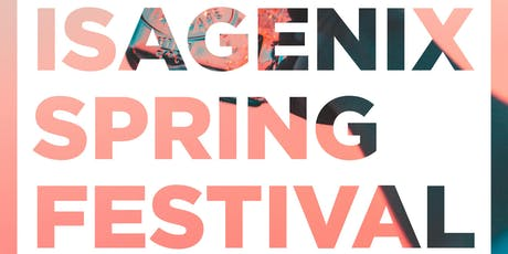 Isagenix Spring Festival  tickets