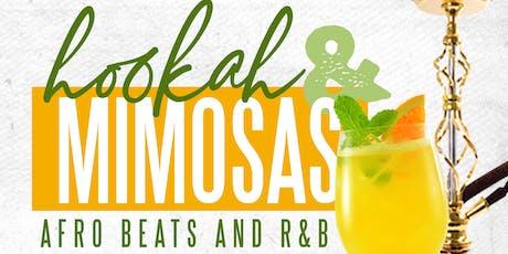 Hookah & Mimosas tickets