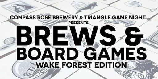 Brews & Board Games (Wake Forest Edition)