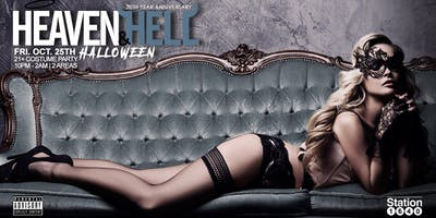 25th Anniversary Heaven & Hell Halloween Party