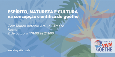 ESPÍRITO, NATUREZA E CULTURA na concepção científica de Goethe