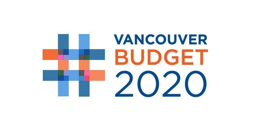 #VanBudget2020 Community Stakeholder Workshop