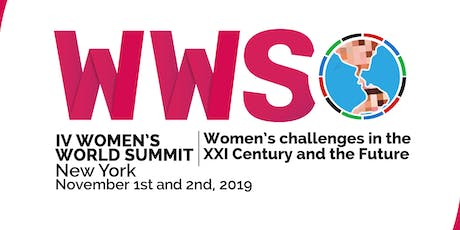 IV Cumbre Mundial de Mujeres (IV Women's World Summit) billets