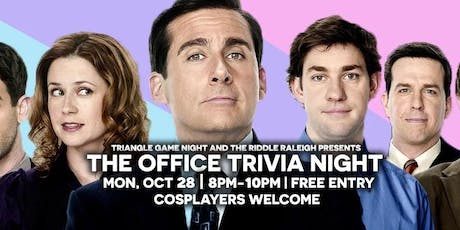 The Office Trivia at Riddle Raleigh tickets