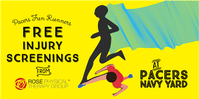 Navy Yard Pacer's Nights: Free Injury Screenings