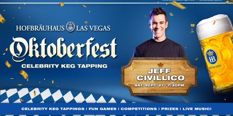Oktoberfest 9.21.2019 with Jeff Civillico tickets
