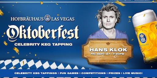 Oktoberfest 9.27.2019 with Hans Klok