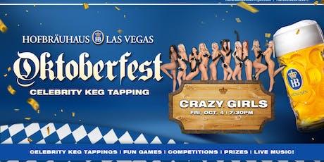 Oktoberfest 10.04.2019 with Crazy Girls tickets