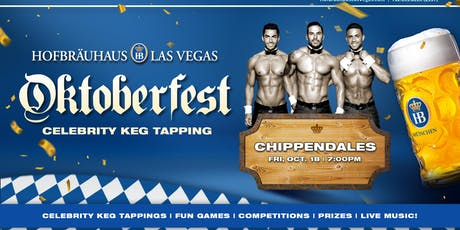 Oktoberfest 10.18.2019 with Chippendales tickets