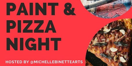 PAINT & PIZZA NIGHT tickets