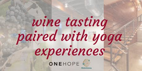 Wine Tasting Paired with Yoga Experiences tickets
