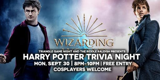 Harry Potter Trivia at Riddle Raleigh