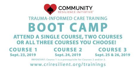 CRI Boot Camp tickets