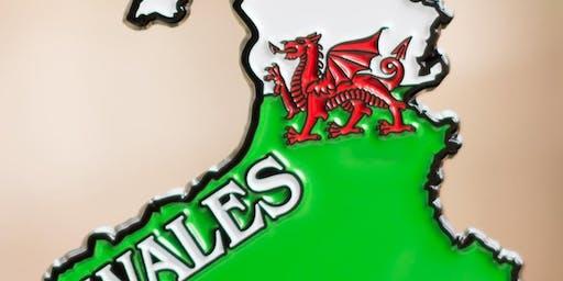 The Race Across Wales 5K, 10K, 13.1, 26.2 -Santa Fe