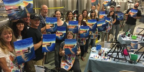 Paint and Pint at Poseidon Brewery tickets